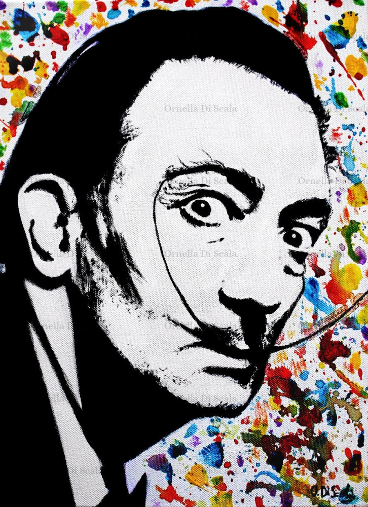 Salvador Dali by velvetdressx